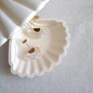 Geometric Acrylic Drop Earrings